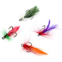 New 12 pcs/set Various Dry Fly Hooks Fishing Hard Lure Trout Salmon Dry Flies Fish Hook Bait MG02 freeshipping  wholesale