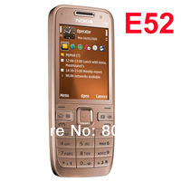 Original Nokia E52 Mobile Phone Bluetooth WIFI GPS E52 3G Cell Phone Russian Keyboard Arabic Keyboard & One year warranty