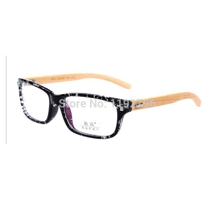 Plain Wooden Frame Wooden Eyeglass Frames Men