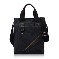 2014  male casual canvas  handbag shoulder  messenger  business  male  bag