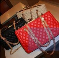 The new 2014 han edition handbag metal ms eu classic tassel chapter one shoulder aslant package