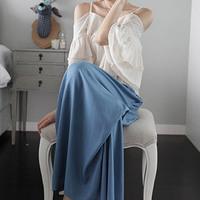 2014 fashion casual long bust skirt 75517