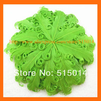 Wholesale ! Hot Sell !round goose feathe pad forhair accessory  150pcs/lot
