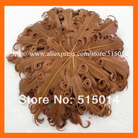 Wholesale ! Various color curly feather pad ,nagorie goose feather for baby hair accessory 40pcs/lot