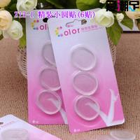 Silica gel small round stickers for the heel sticker flip 6