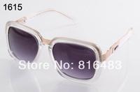 Top Popular 2014 Fashion designer Brand Cazal 616 sunglasses vogue eyewear vintage glasses big square frame free shipping 6cols