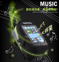 5.5 inch mobile phone on the tube package with earphone hole  Fifth Generation Listed bicyele bag for touch phone