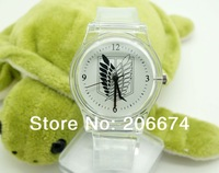 NEW Unisex Attack on Titan design analog watch.Quartz watch.Wristwatches+free shipping