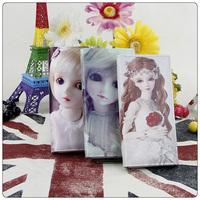 Free shipping 2014Cute cartoon  Wallet High Quality Multiple purse Women's Fashion Wrist Wallet zipper long wallet In Stock,sale
