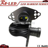 E90 LCI  LED Marker Angel Eyes 2pcs X10w each one Canbus Cree LED Bulbs Error Free White