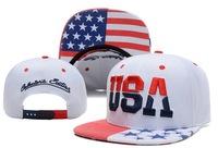 2014 new USA flag adjustable baseball snapback hats for men fashion sports hip hop cotton mens street headwear 4 colors cheap
