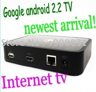 Google TV android 2.2 Support web browse ,online audio&video IPTV internet TV(China (Mainland))
