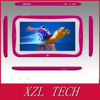 2014 New XZL Dual Core Dual Cameras RK3026 7 Inch Rockchip  children's flat .