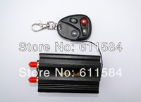 DHL EMS shipping 50pcs/lot tk103B Car GPS tracker Remote Control  Car Alarm Portuguese PC GPS tracking system Google map