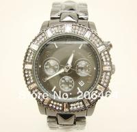 New style Mnichael watch, fashion luxury watch, 1pc/lot Free Shipping high quality unisex diamond watch--black