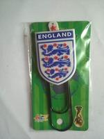 England national football team plastic bookmark /  bookmarklet