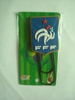 France bule national football team plastic bookmark /  bookmarklet