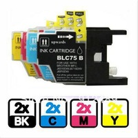 8 NEW Ink Cartridge for Brother Printer LC71 LC75 MFC-J425W MFC-J430W MFC-J435W Ink No. 35