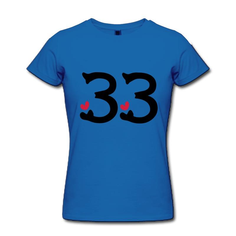 Girl Line Number T-shirt Girl Number 33 Txt