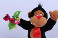 Free shipping Electric Monkey  Sing Russian songs monkey  Russian Toy  Russian exports of toys