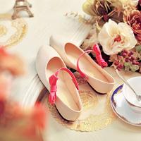 2014  bow women's shoes flat heel gentlewomen dipper shoes sweet princess flat shoes