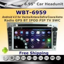 6.95″Car Sat Nav Android DVD For 2006-2011 Opel Antara/Vectra with 3G WIFI GPS BT RDS Radio USB SD Autoradio car Stereo Headunit