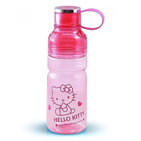 2014 New arrive Children's outdoor water flask Cartoon plastic water bottle Hello kitty canteen High quality Space cup 600ml