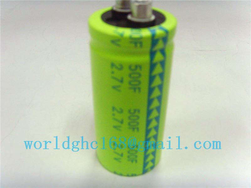 Cooler back-up power super capacitor 2.7v500f(China (Mainland))