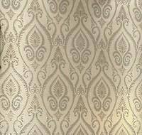 Luxurious Classic Velvet Flocking Damask 3D Sound Absorbing Wallcoverings