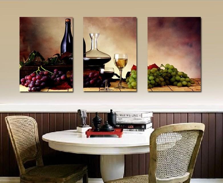 Online kopen wholesale abstracte schilderijen wijn uit china abstracte schilderijen wijn - Verf modern muur ...