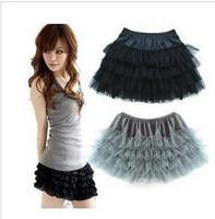 2014 new  candy-colored four explosion models princess dress chiffon skirt gauze skirts