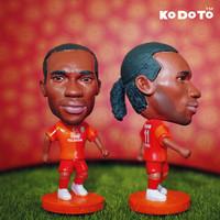KODOTO 11# DROGBA (GAL) Football Star Doll (2013-2014)