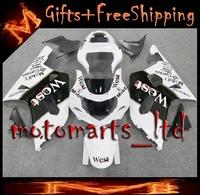west black Fairing For suzuki GSXR 600/750 2001 2002 2003 GSXR600 GSXR750 01 02 03 Kit Set Fit For suzuki GSX R600 GSX R750 GSXR