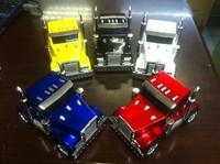 Truck Shape Mini Speaker Car Shape Music MP3 USB,3D Stereo Sound Mini Speaker,Mix Color