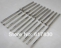 Free Shipping Fashion New 80pcs/4 sets Silver Metal Craft tool Leather craft Stamps Leather Working Saddle Making Carved Tools