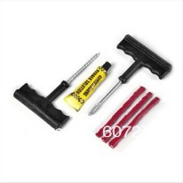 670381 Best-selling 1set/lot Bike Auto Tubeless Tire Tyre Puncture Plug Fast Useful Repair Tool 3 Strip(China (Mainland))