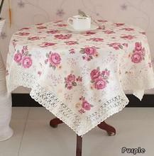 cotton table cloth promotion
