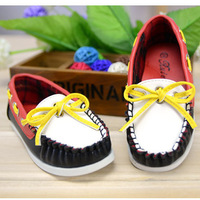 Unisex Chillren Shoes Slip-on Soft Leather boy Sneakers Shoes Girl Shoes