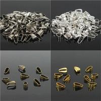 Pendant Clips & Pendant Clasps, Pinch Clip Bail Pendant Connectors 300PCS/LOT. Jewelry Findings DIY jewely parts accessories