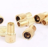 Mountain bike / bicycle / valve adapter / converter gas nozzle head / Adapter / French to American *6pcs