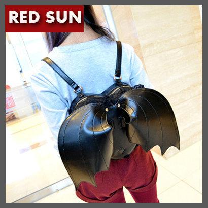 Bat Heart Backpack pu Bat Heart Backpack Lace