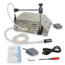 Free ship Digital Control Pump Drink Water Liquid Filling Machine GFK-160 5-3500ml Easy Use(China (Mainland))