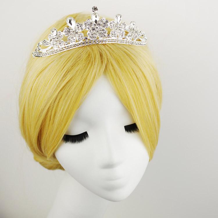 Bride rhinestone hair accessory crownpiece marriage accessories swithin wedding accessories formal dress accessories