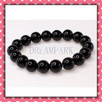 Black Glass Beads Bracelet Jewelry accessories Bead Bracelets