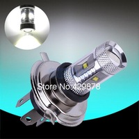 H4 30W Cree XBD LED cars Fog Head lights Bulb auto Lamp Vehicles Signal Tail parking car light source free shipping