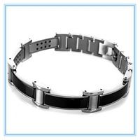 Mens Jewelry Titanium Steel Magnetic Bracelet Power Therapy Magnets Balance 2014 Healthy Bracelets & Bangles