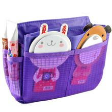 Free Shipping Multi-function Travel Insert Handbag Organizer Purse Pouch Organizer Tidy Bags(China (Mainland))