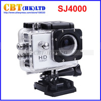 2014 Sport Camera Diving 30Meter Waterproof Camera 1080P Full HD SJ4000 Helmet Camera Underwater action Cameras Sport DV Car Dvr