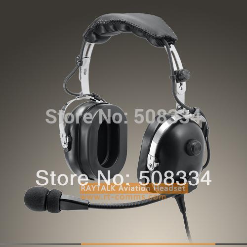 PNR Passive Noise Reduction aviation Headsets (black)(China (Mainland))