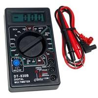 Digital LCD Voltmeter Ohmmeter Ammeter Multimeter Handheld Tester OHM VOLT, Free & Drop Shipping